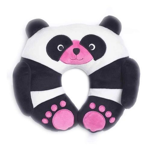Almohada De Viaje Niños Peluche Panda Travel Blue Tb284 Full