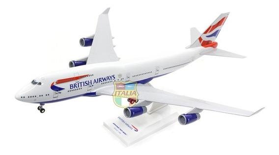 Boeing 747-400 British 1:200 Skymarks Com Trem De Pouso