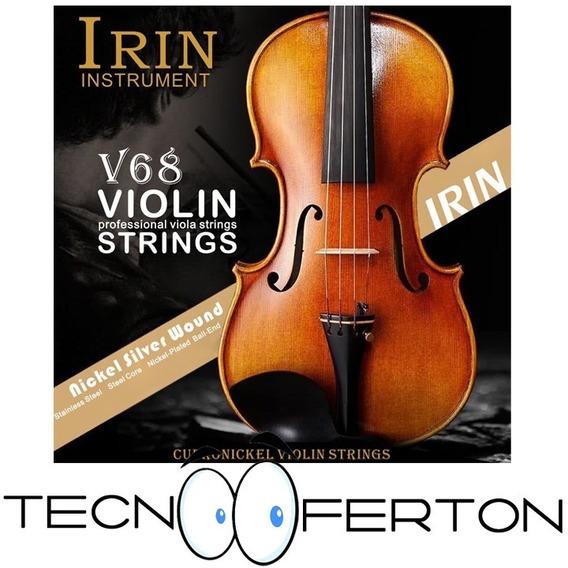 Juego Cuerdas Completo Para Violin 1/2 3/4 Y 4/4 Calidad