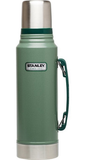 Termo Stanley Classic 1 Lt Acero Inoxidable C/ Tapon Cebador