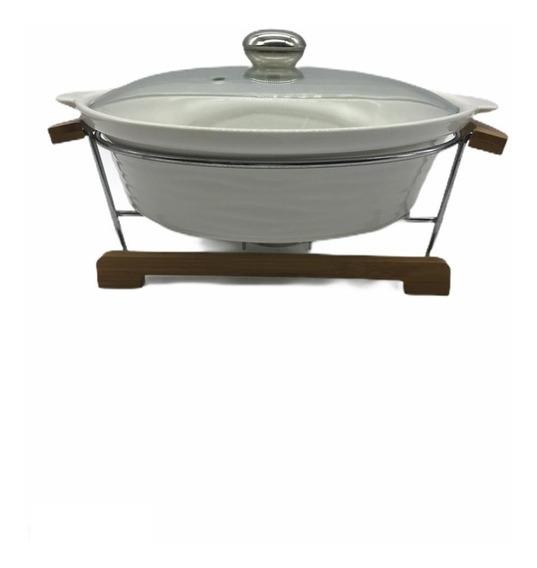 Olla De Porcelana Con Soporte De Metal D 3l Bambu Piu Online