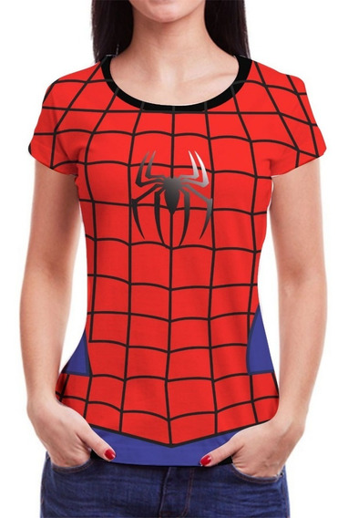 Camiseta Camisa Feminina Roupas Herois Blusa Marvel