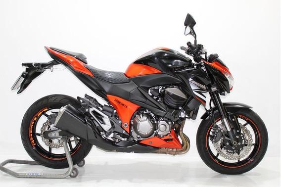 Kawasaki Z 800 2014 Laranja