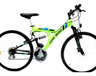 Bicicleta Rodado 20 Firebird Mtb Full Suspensión 16335