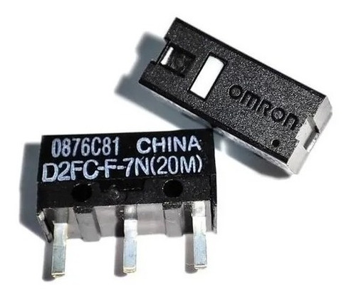 Imagen 1 de 7 de Par Micro Switch Omron D2fc-f-7n(20m) Mouse Logitech/razer