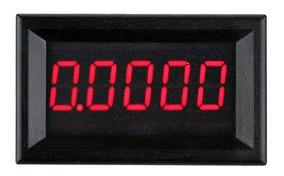 Amperímetro De Precisão Digital 5 Dígitos 0,0000 A 3,0000 A