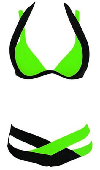 Traje De Baño Brazilian Bikini Sexy Playa Mujer