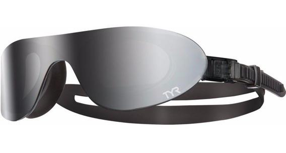 Goggles Gafas Espejo Para Natacion Tyr Color Humo