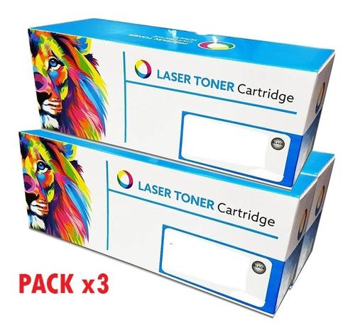 Toner Alternativo Cf283a 283a M127 M127f M201 M225 (pack X3)