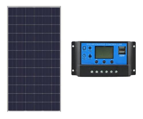 Placa Solar 330w Yingli+controlador De Carga 30a