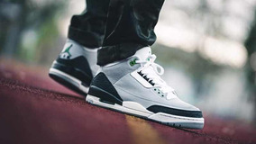 Air Jordan 3 Retro Chlorophyll Originales Envío Gratis