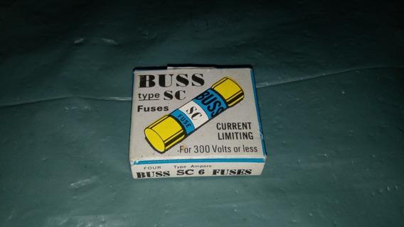 Buss Class G Fuse Sc-6 (nc67-09) Cx C/4 (126) (72)