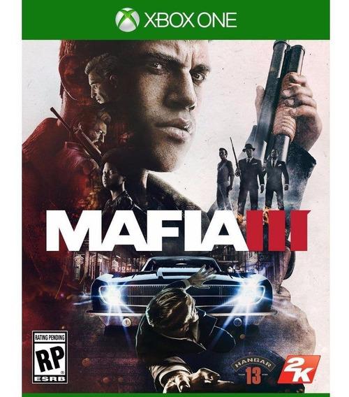 Mafia Iii 3 Xbox One Mídia Física Português Pronta Entrega