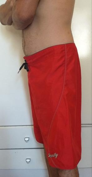 Bermuda Short De Baño Rusty Talle L (46 48), Cataleya