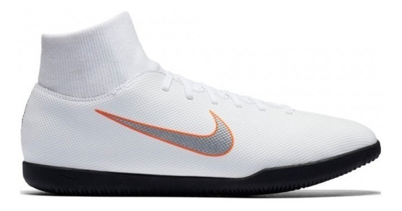 Chuteira Nike Futsal Superflyx 6 Club Branco Ah7371-107