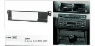 Consola Adaptador De 1 Din Para Bmw 3 Series E46 , 1998-2005