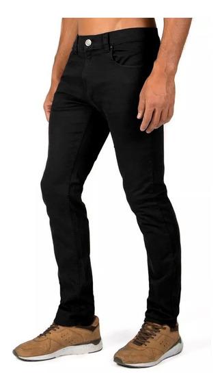 Pantalón Gabardina Negro Skinny