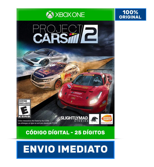 Project Cars 2 - 25 Dígitos Xbox One