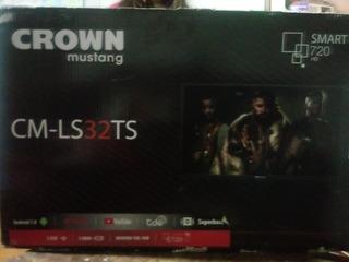 Smart Tv Crown Mustang 32