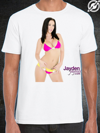 Playera Blanca Con Sublimado De Jayden James 2