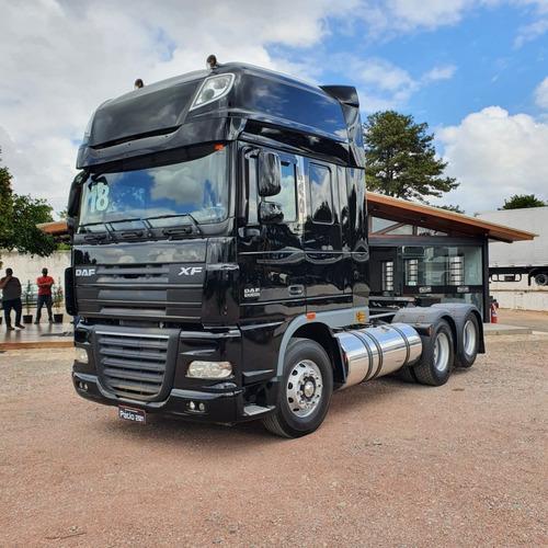 Caminhão Daf Xf 105.460 Cavalo Trucado 6x2 2018 Super Space