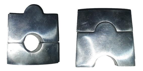Alongador De Guidão 22mm Cores: Preto,cinza,branco E Polido
