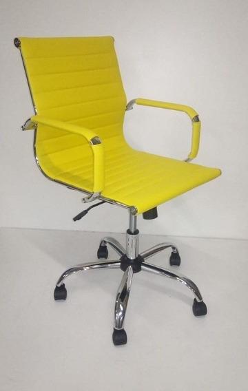 Cadeira Escritorio Diretor Giratória Charles Eames