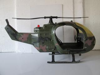 Helicóptero 1/6 = 12 = 30 Cm Ideal Gi Joe Aventurero Dragon