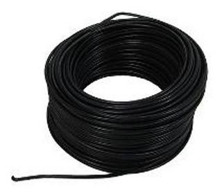Cable 7 Hilos No12 Negro Rollox 100m Thhn/thwn Awg 600v 90c