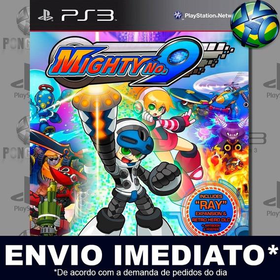 Mighty No 9 Ps3 Psn Jogo Em Promoção A Pronta Entrega Play 3