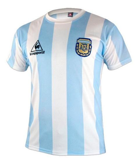 Camiseta Equipo Lecoq Sportif Argentina 86 2-0332-94c/bl
