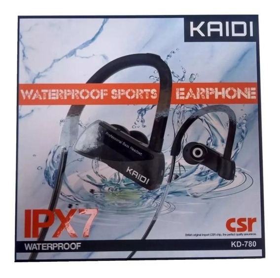 Fone De Ouvido Bluetooth Kd780 Sports À Prova D