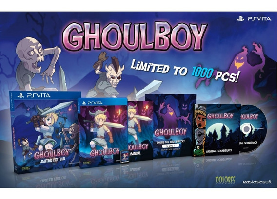 Ghoulboy [limited Edition] Psvita