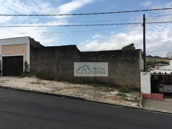 Ótimo Terreno À Venda Em São Roque. - Te0003