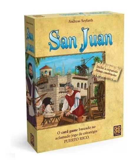 Jogo Card Game Grow San Juan Andreas Seyfarth Original