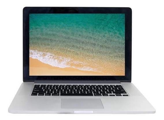 Macbook Pro A1398 15,4 I7 16gb 256gb Ssd S/placa De Vídeo
