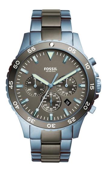 Relógio De Pulso Fossil Crewmaster Masculino Ch3097/5pn