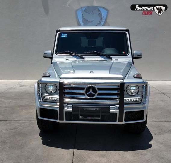 Mercedes Benz G 500 Plata 2016