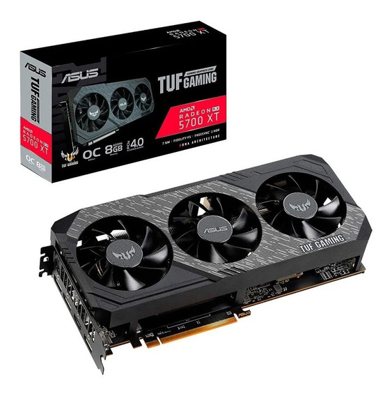 Placa Video Asus Amd Rx 5700 Xt 8gb Tuf Gaming Oc 5700xt