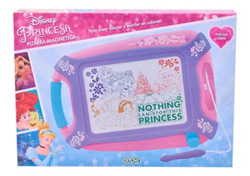 Imagen 1 de 1 de Princesas Pizarra Magnetica Ditoys Disney