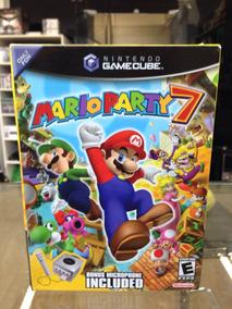 Mario Party 7 C/mic Gamecube Novo Lacrado Americano Coleção!