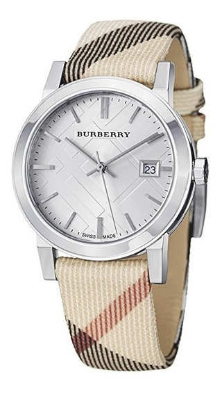 Reloj Burberry Zafiro Acero Piel Multicolor Mujer Bu9113