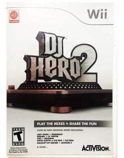 Dj Hero 2 - Nintendo Wii