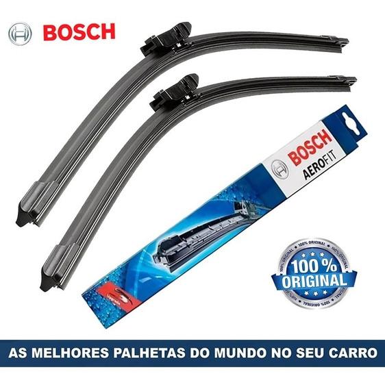 Kit Paleta Limpador Bosch Gol G6 2013 A 2017 2018 + Traseira