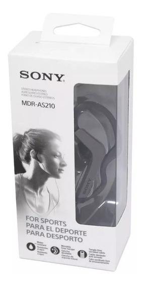Fone De Ouvido Original Sony Mdr-as210ap Pronta Entrega