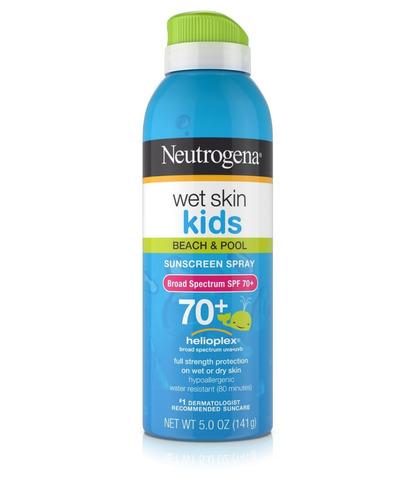 Protetor Solar Neutrogena Kids Wet Skin 70 ( 141 G)