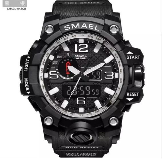 Relógio G-shock Smael, Prata Tático Militar Prova D