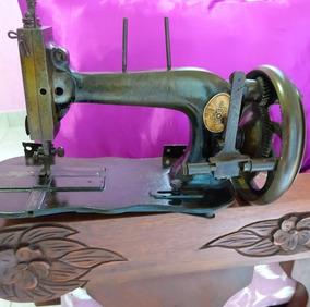 Maquina Antiga De Costura Manual(seculo 19)(cod2)