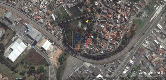 Ref: 10.239 Excelente Terreno Com 23945 M² Para Venda No Bairro Jardim Portela. Estuda Proposta. Próximo A Linha 8 - Diamante Da Cptm. - 10239