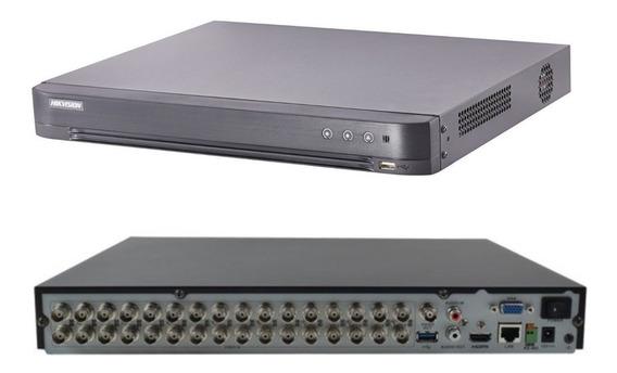 Dvr 32 Ch Pentaflex Hikvision 4mp Lite/3mp Ds-7232hqhi-k2